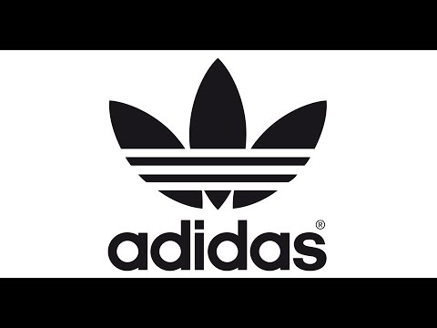 How To Make An Adidas Logo In Easy Youtube
