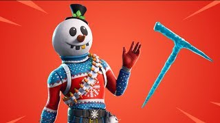 Fortnite New Slushy Soldier Skin Gameplay