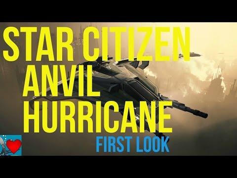 Star Citizen Anvil Hurricane