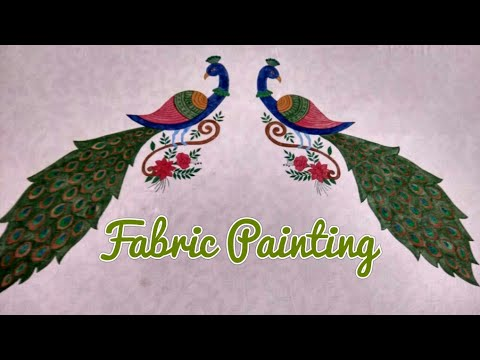Bed Sheet Painting Designs Bed Sheet Design Youtube
