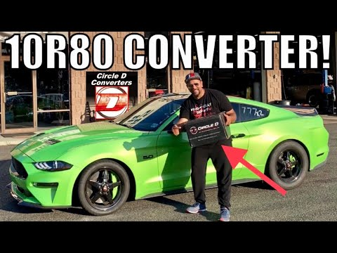 WORLD's 1st Install & Review 10 Speed Auto TQ CONVERTER FOR 2018-19 MUSTANGs!