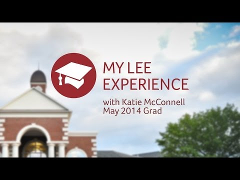 My Lee University Experience - Katie McConnell