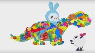 Малышарики - Умные песенки - Уборка игрушек - мультфильм для самых маленьких