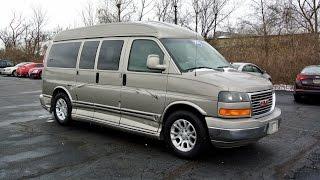 2003 GMC Explorer 7 Passenger ALL WHEEL DRIVE Conversion Van | Quick Walkthrough | CP14986AT