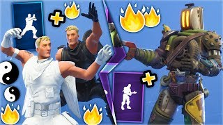 FORTNITE DANCES THAT LOOK BETTER WITH THESE SKINS..! (Yin-Yang Default, Kitbash, Slick...) - Pt.3