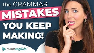 The Grammar Errors You KEEP Making! 😣 Common English Mistakes