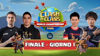 WORLD CHAMPIONSHIP 2020 - Gran FINALE  Day 1 - Clash of Clans eSports