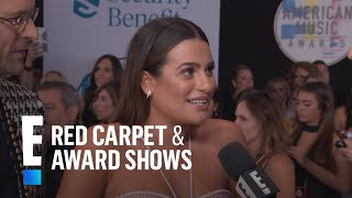 Lea Michele Gets a Surprise From Ramona Singer at 2017 AMAs | E! Red Carpet & Award Shows