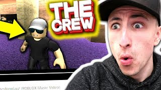 THE CREW DISS TRACK MUSIC VIDEO *IN ROBLOX*