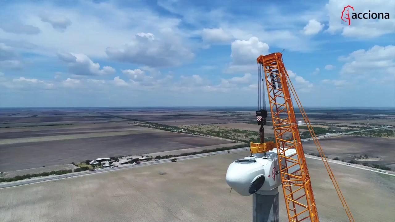 Así avanza la construcción del parque eólico El Cortijo, México | ACCIONA