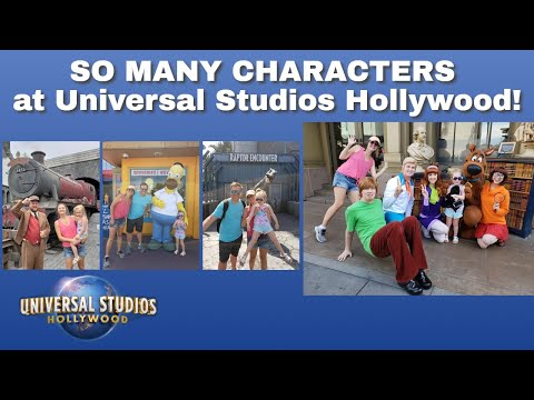 So Many Characters And So Much Fun! | Universal Studios Hollywood
