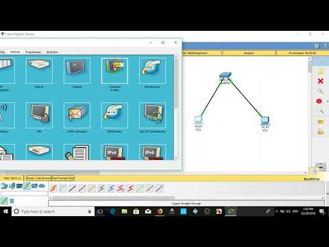 connet Ip address in pc to cisco switch