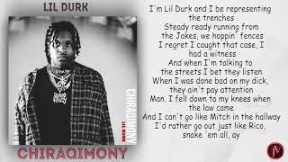 Lil Durk - Chiraqimony- LYRICS