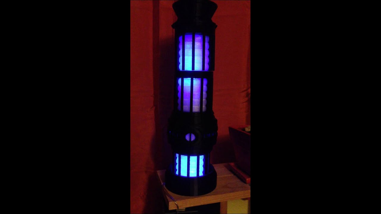 warp core table lamp  3-d printable