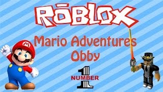 Let's Play ROBLOX - Mario Adventure Obby - Part 1