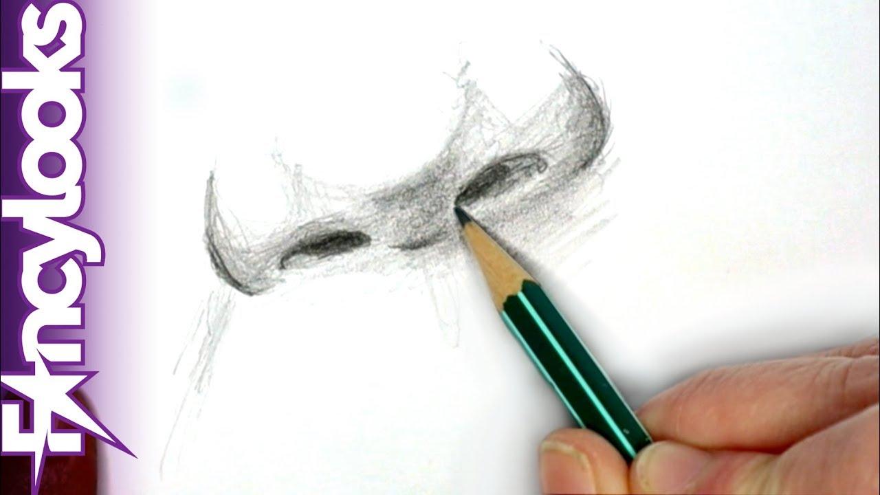 Cómo Dibujar Una Nariz Realista Con Lápiz Paso A Paso Youtube