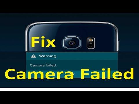 Camera failed error!! Fix - Howtosolveit