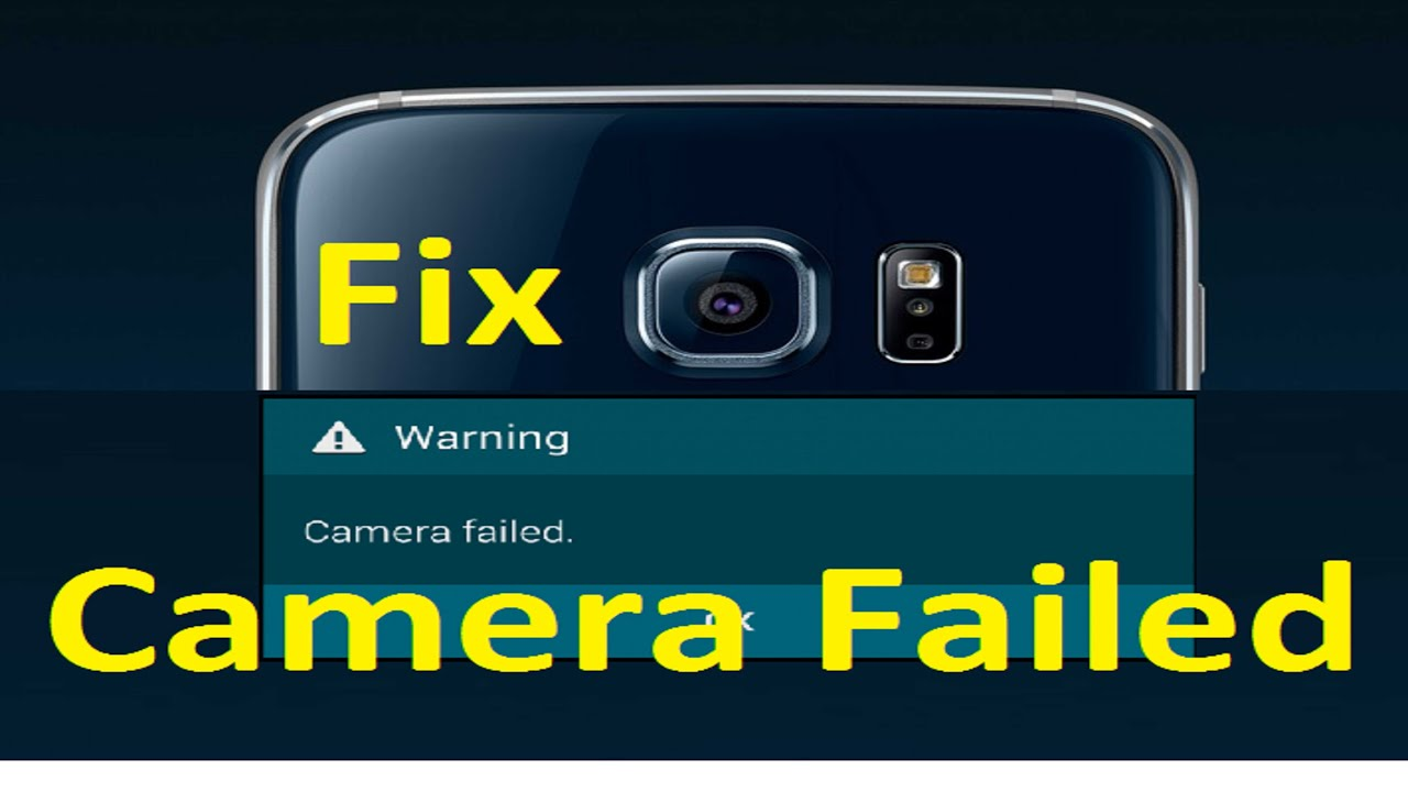 Camera failed error!! Fix - Howtosolveit - YouTube