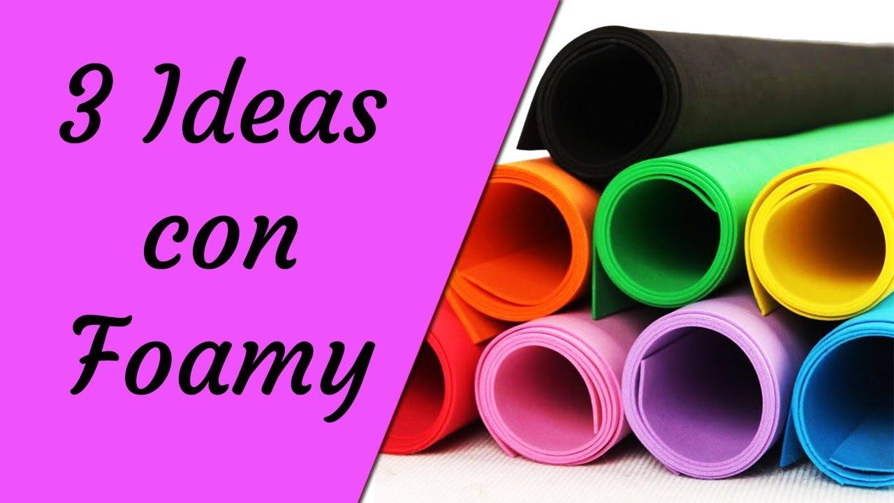 3 ideas para regreso a clases con foamy ecobrisa youtube for Decoracion para puertas de preescolar