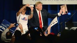 Will Donald Trump accept campaign donations?