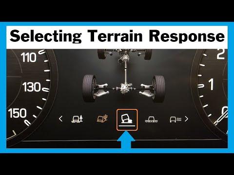 Land Rover Defender 2020 Terrain Response / Selecting / HDC / ATPC / Terrain Response 2