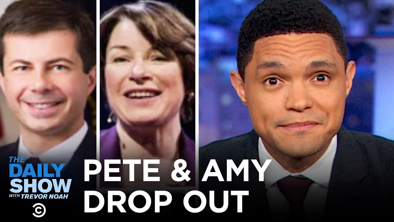 Biden Wins South Carolina & Buttigieg and Klobuchar Drop Out   The Daily Show