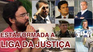 Moro, Guedes, Heleno e Pontes! A LIGA DA JUSTIÇA do Bolsonaro!