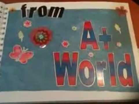 A+ World Scrapbook