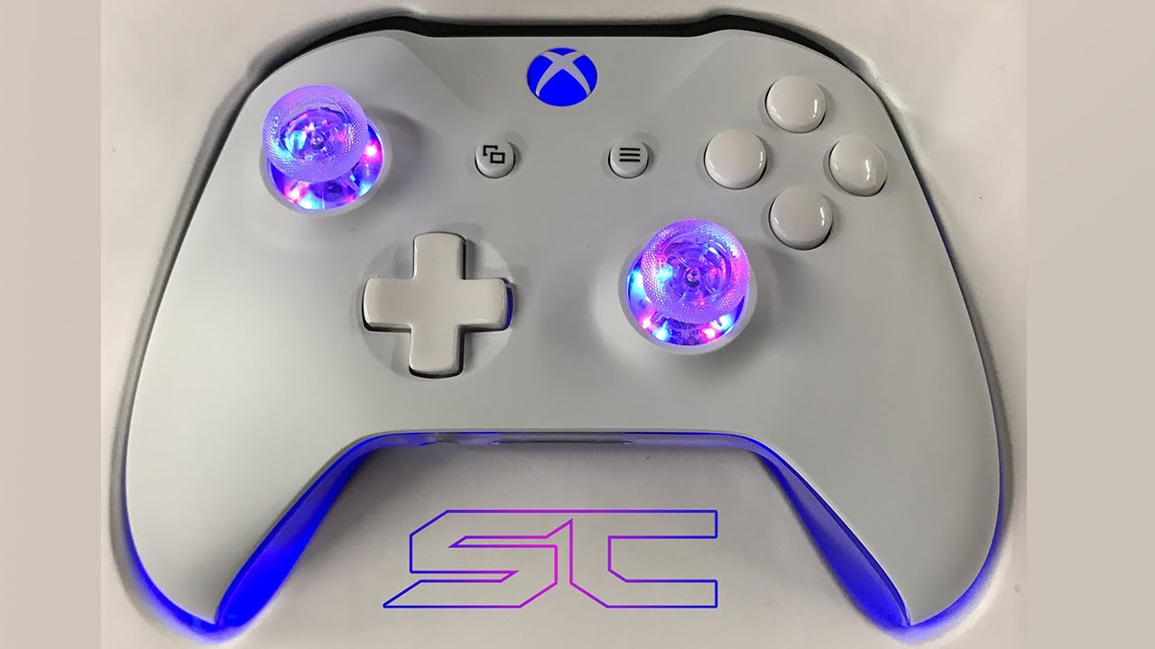 First Customized Xbox One Controller For Sbmodz Sharky S