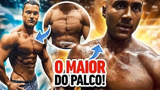 TOP1? 😱 REY PHYSIQUE E LÉO ARAÚJO NO EUROPA GAMES