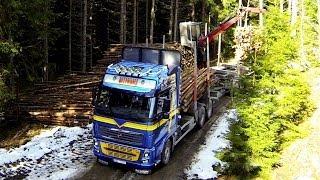 Volvo FH16 750 hp Timber truck & Quadcopter Phantom 2