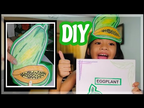 DIY HEADDRESS For Nutrition Month | MummaDunna And Kids