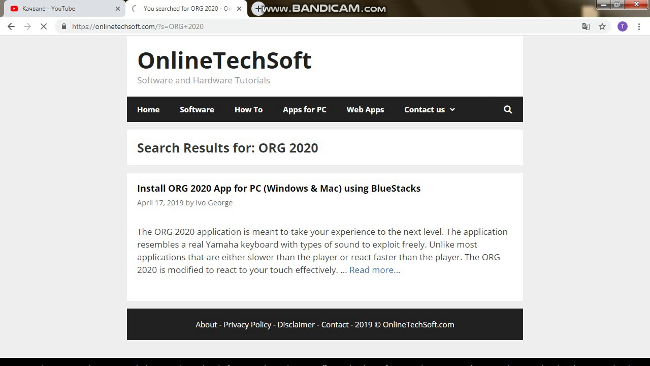 ORG 2020 for PC - Windows 7/8/10 - Free Download