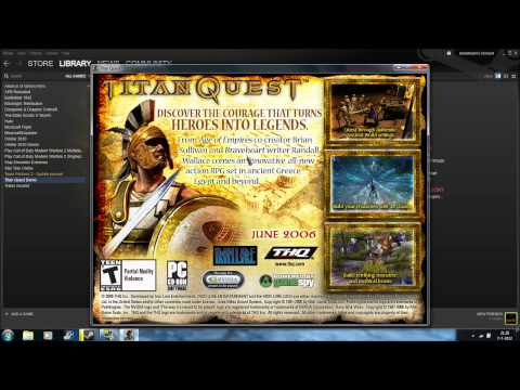 titan quest windows 7 and vista problem fix