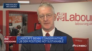 Not sure Labour party's Brexit policy will survive, Hilary Benn says   Street Signs Europe