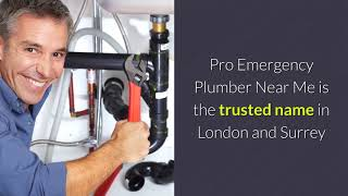 Pro Emergency Plumber Near Me | Call 0208 088 0690 | 5 Star Rating | 24 Hour Plumber Service