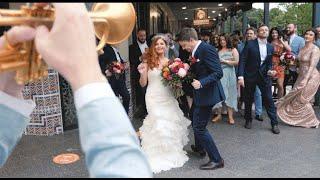 A Wedding Marching Band through Adelaide! | Jen + Dan
