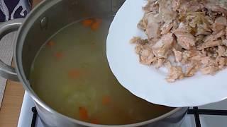 Любовь Зиброва.Рыбный суп из горбуши/Fish soup