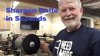 How to Get a Razor Sharp Knife in Seconds Using MDF