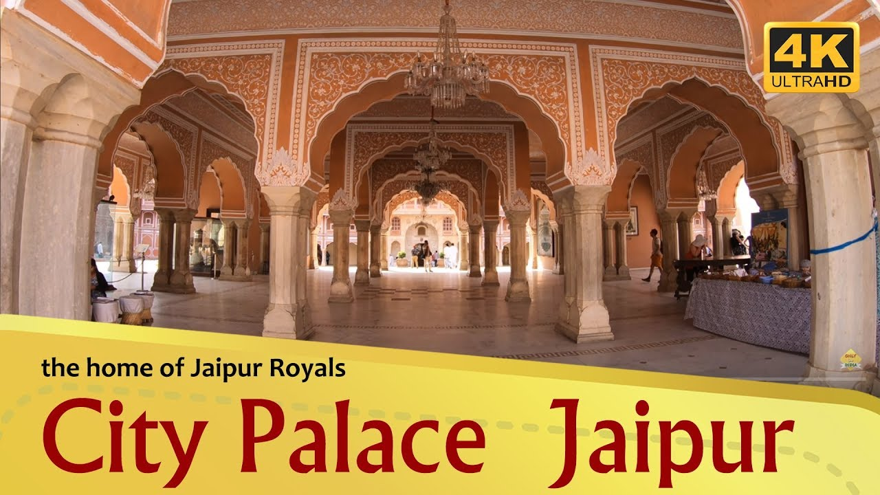 City Palace The Home Of Jaipur Royals 4k Youtube