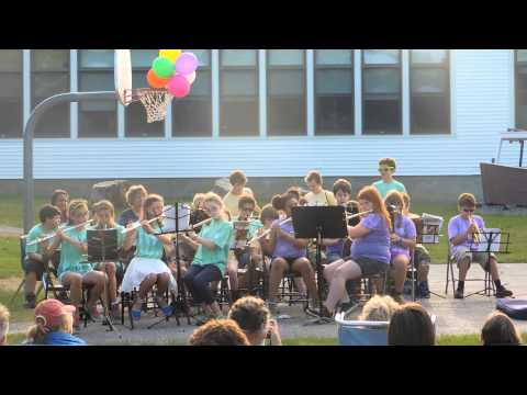 Georgetown Central School 4th - 6th grade Band, Spring 2015