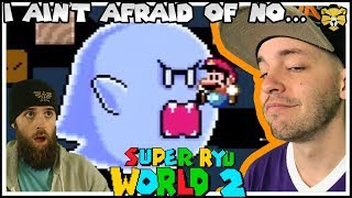 TAS ONLY Cape Level! Super Ryu World 2 Part 8: A Super Mario World Romhack!