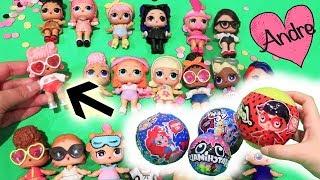 LOL Surprise falsas y Confetti Pop Ola 1 COMPLETA | Muñecas y juguetes con Andre para niñas y niños