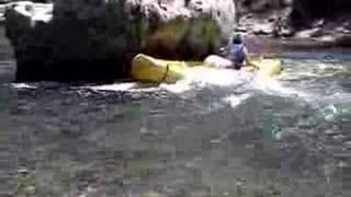Vallon Pont D'arc crash on ardeche