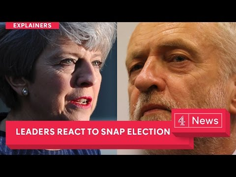 UK general election: Theresa May's full speech + Jeremy Corbyn, Nicola Sturgeon and Tim Farron react