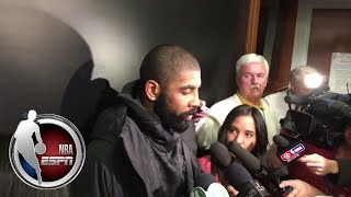 Kyrie Irving after loss to Pelicans: We can't come back every game | ESPN