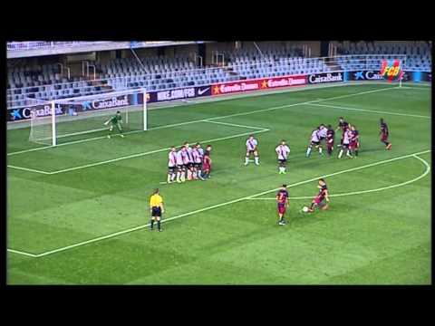 Futbol (2a B): Barça B-Lleida Esportiu (1-0) - 동영상