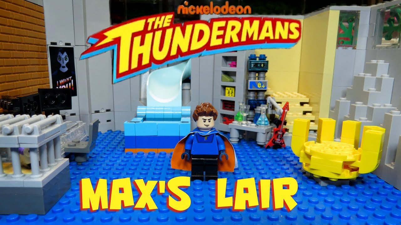 Download Max's Lair Lego Thundermans Set Review
