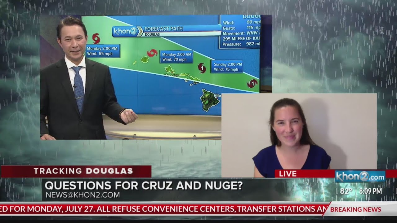 Hawaii 'breathing a sigh of relief' as Douglas pulls away after just ...