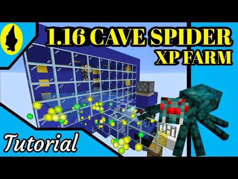 Minecraft   1.15 & 1.14 CAVE SPIDER XP FARM EASY TUTORIAL   JAVA